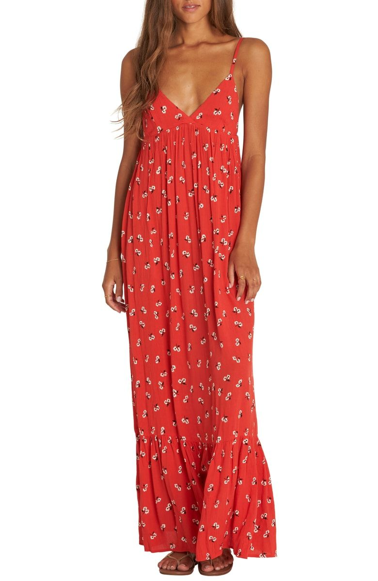 Free shipping and returns on Billabong Flamed Out Print Maxi