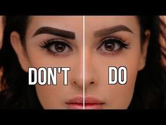 Eyebrow Tutorial For Beginners | chiutips - YouTube #eyebrowstutorial