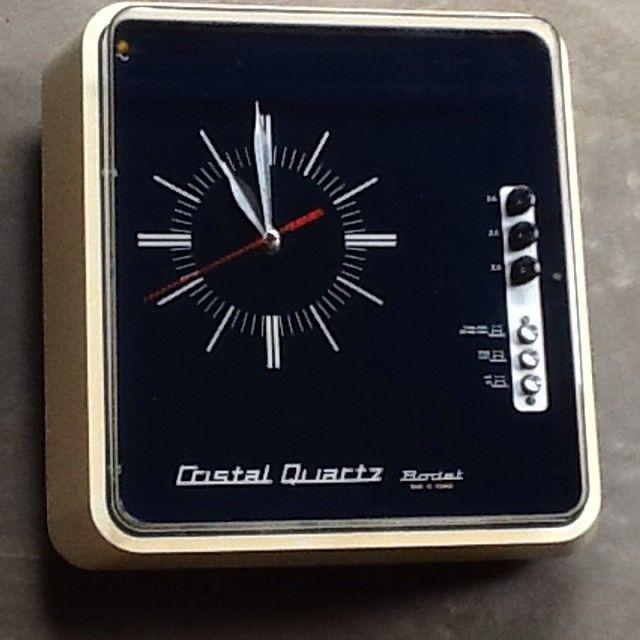 Vintage Cristal Quartz Bodet clock.  f437f80c602f