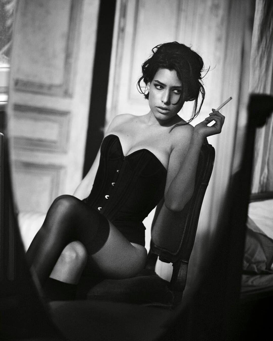 #eternalnoir Beautiful Alice Peneaca for Elle Romania by Vincent Peters