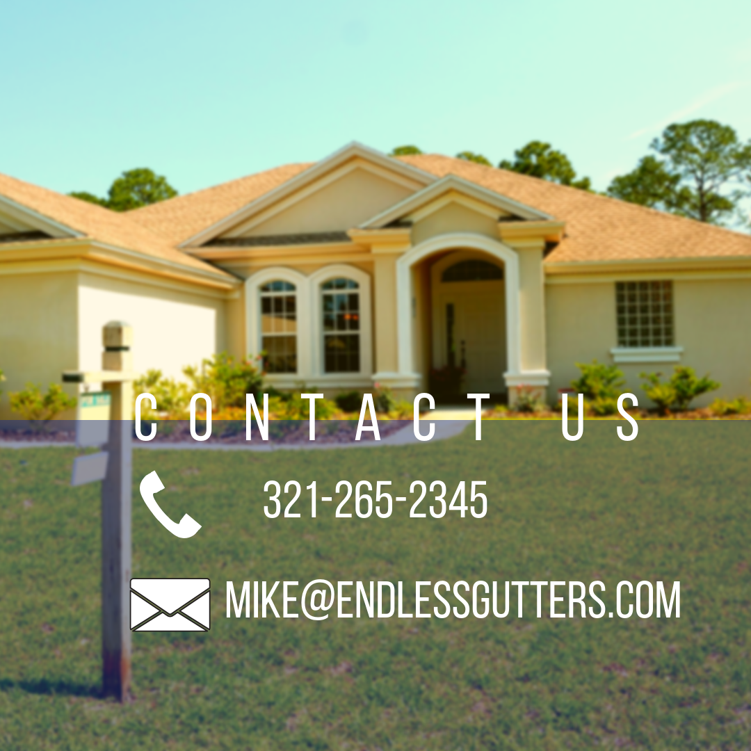 Proud To Be Serving All Of Beautiful Brevard County From Titusville To Malabar Contact Us Today Wit How To Install Gutters Seamless Gutters Gutter Maintenance