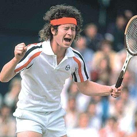 Left Handed Tennis Players John Mcenroe Tennis Players Wimbledon Champions