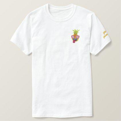 Embroidered shirt customizable handmade - gift idea WXQ4P