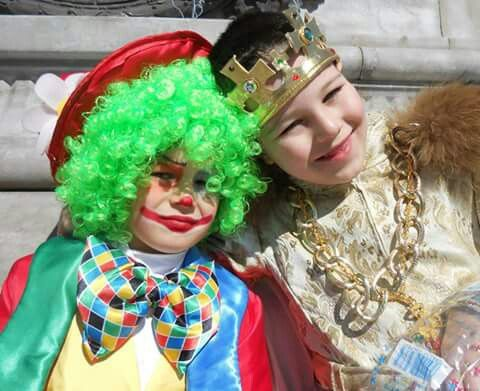 Clown e Re d'Austria