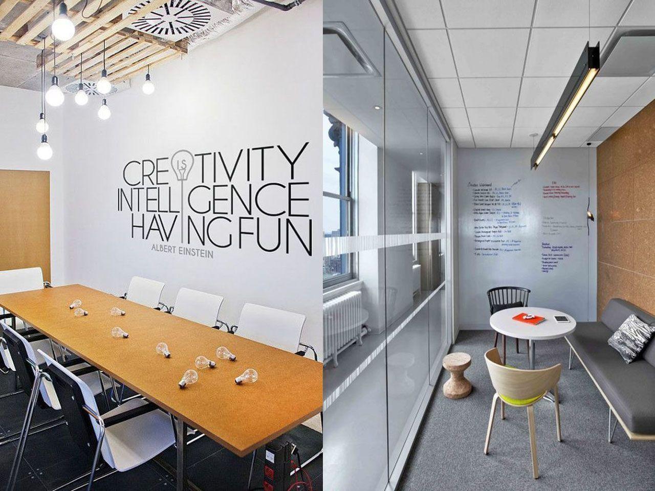 7 Fantsticas Ideas De Decoracin Oficinas Modernas Recepcion Decoracion Oficina Moderna