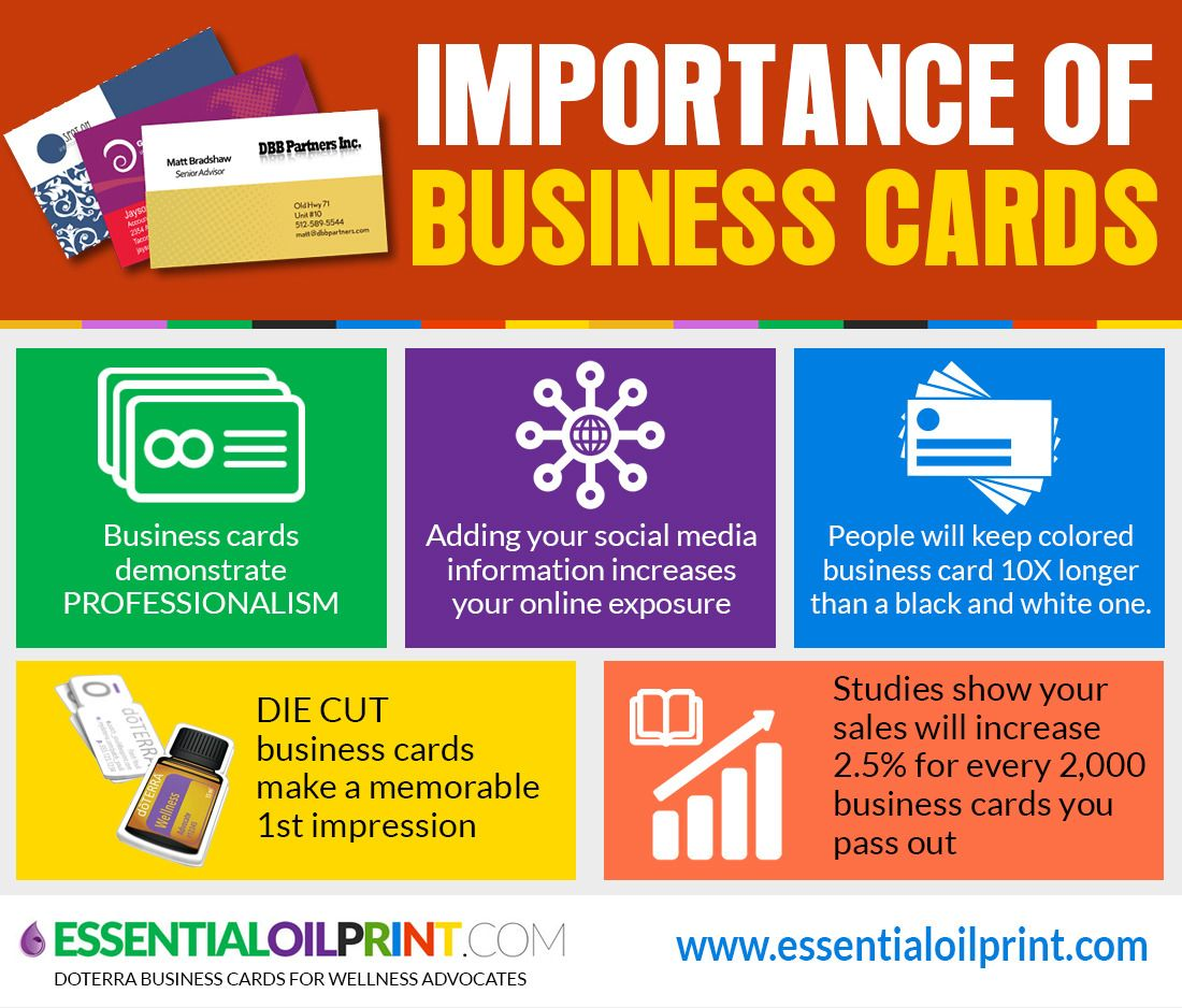 Infographic: The Importance of Business Cards http ...