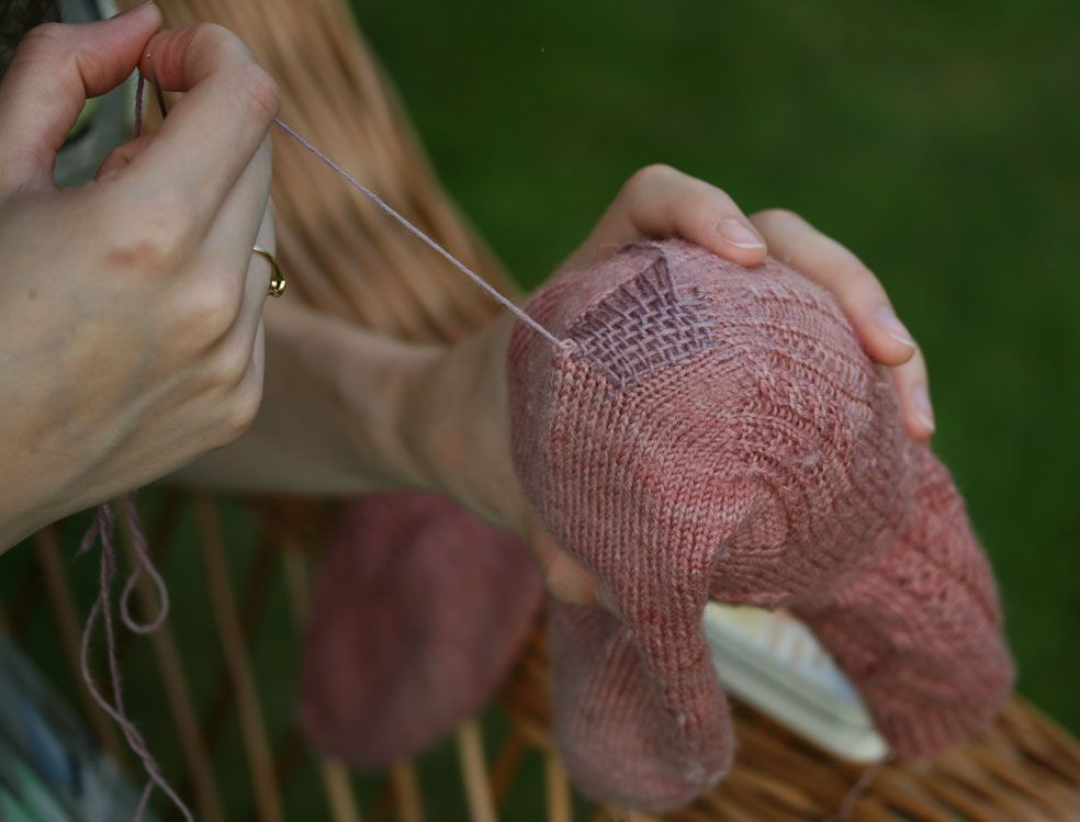 sock darning thread what to do with a great pair of