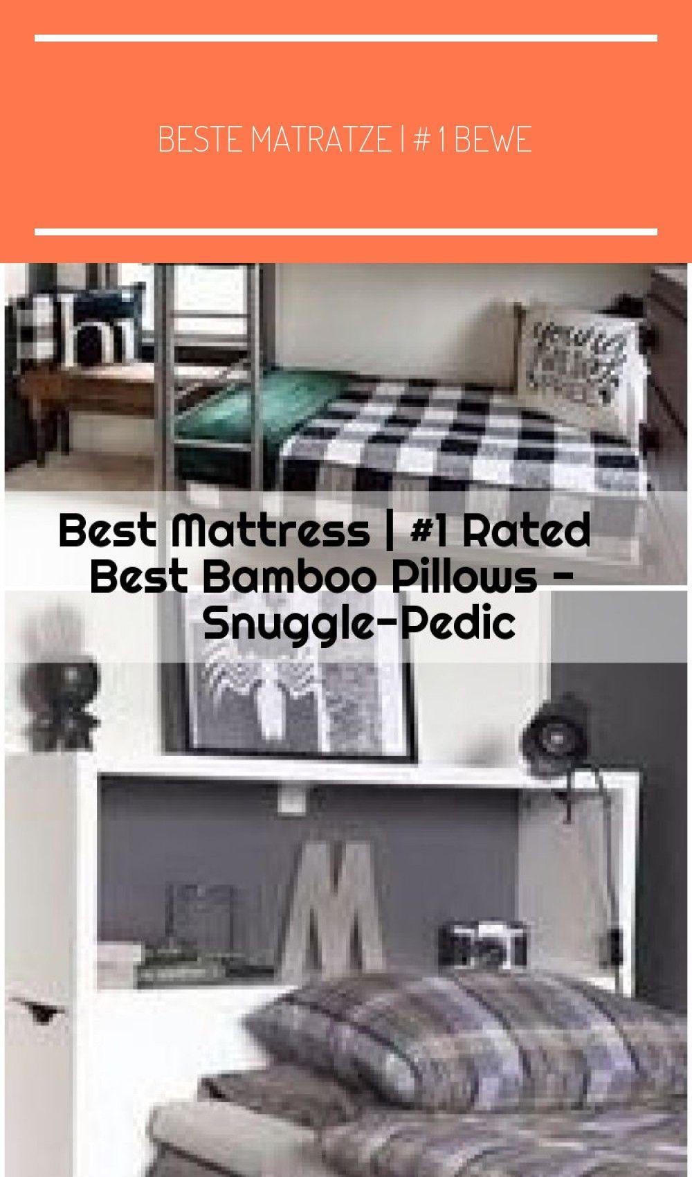 Beste Matratze 1 Bewertetes Bestes Bambuskissen Snuggle Pedic Topferscheune Jungen Schlafzimmer Jungen Schlafzimme In 2020 Best Mattress Bamboo Pillow Mattress