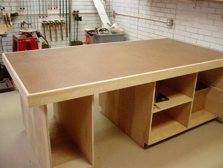 Torsion Box Workshop Table by Tony Z    Homemade workshop table featuring a  torsion box. Torsion Box Assembly Table   The Wood Whisperer   Workshop