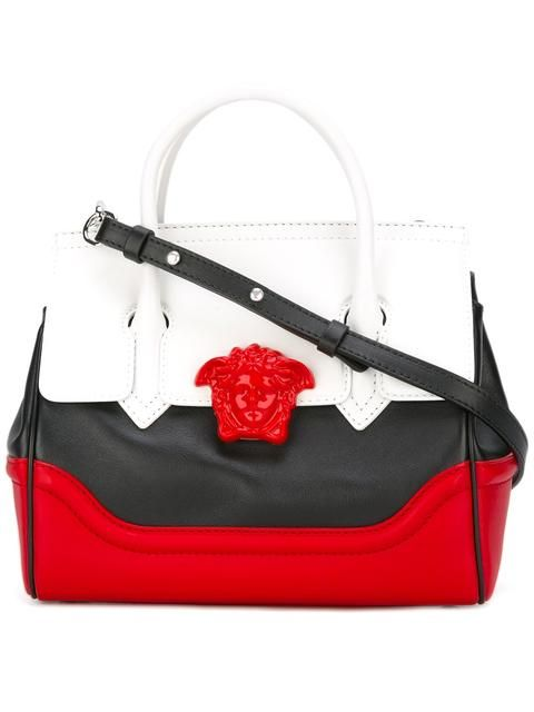 adcde92c4461 VERSACE Palazzo Empire colour block tote.  versace  bags  shoulder bags   hand bags  leather  tote