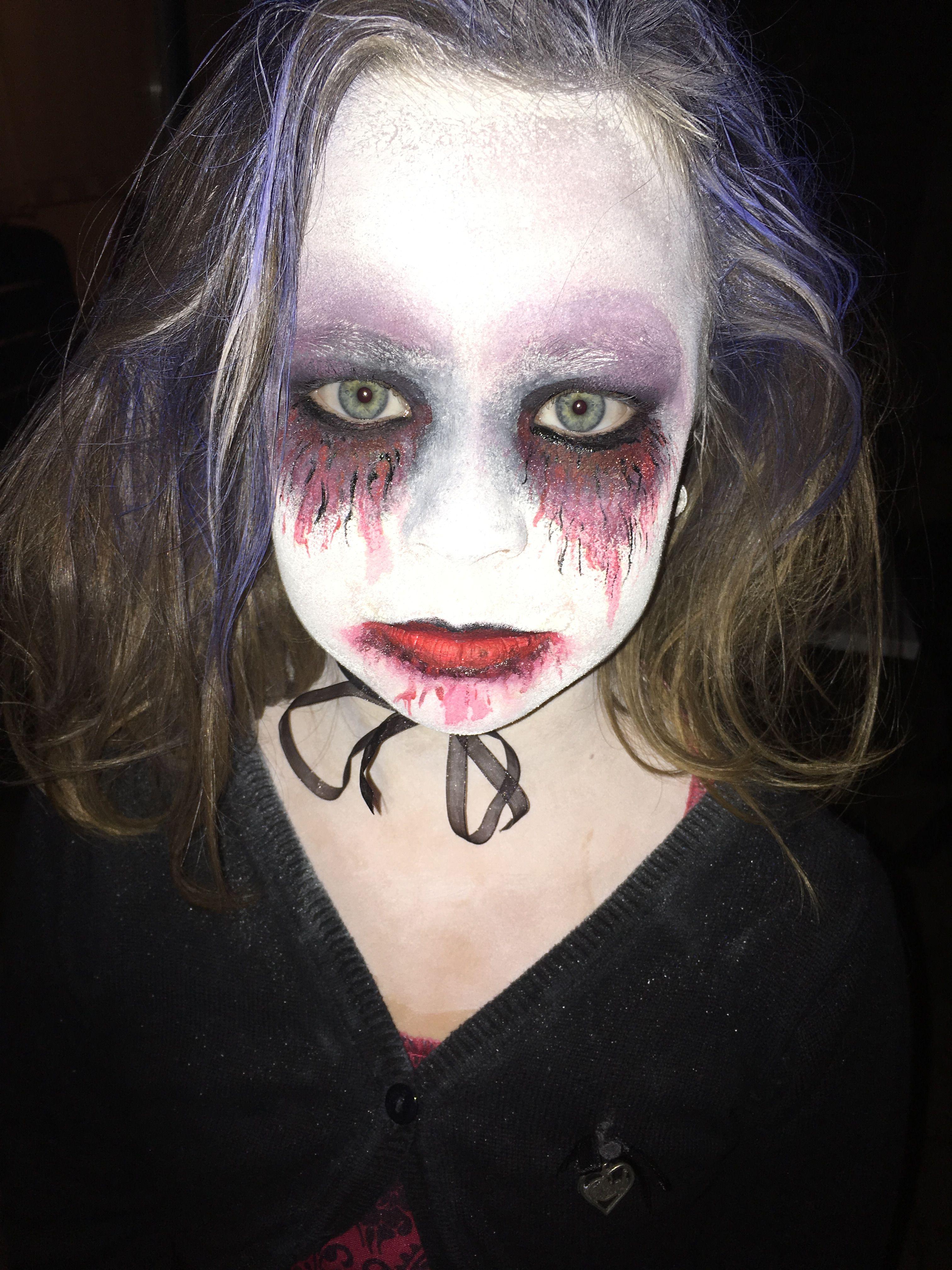 Halloween - vampire Face painting | Vampire face paint