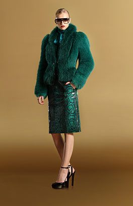 who doesn't need a green fur coat?