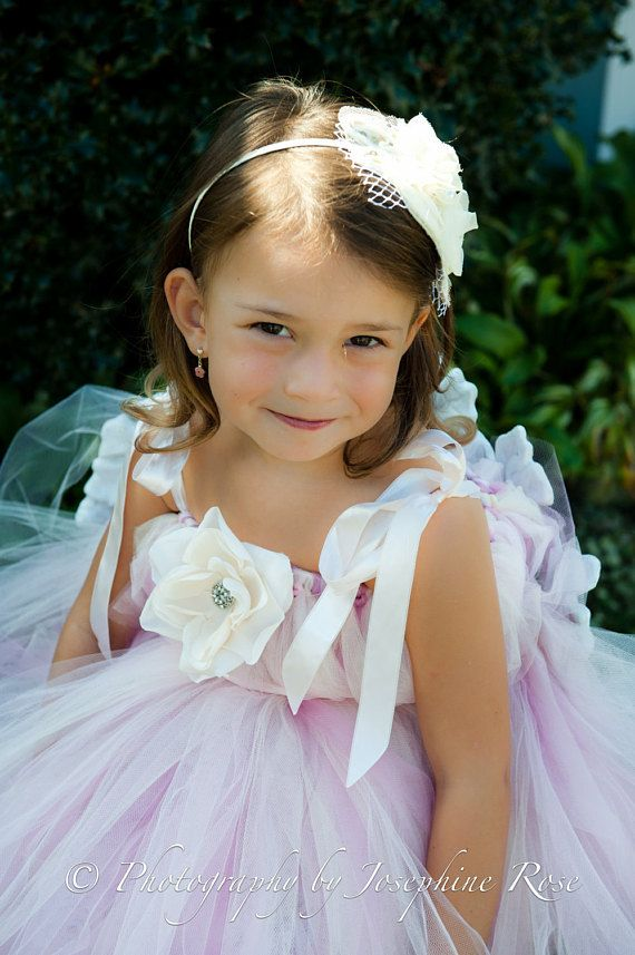 Design Your Own Tutu Flower Girl Dress Wedding Birthday Portraits