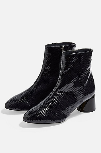Womens Blair Smart Ankle Boots - Grey in 2019  b5337fd23c