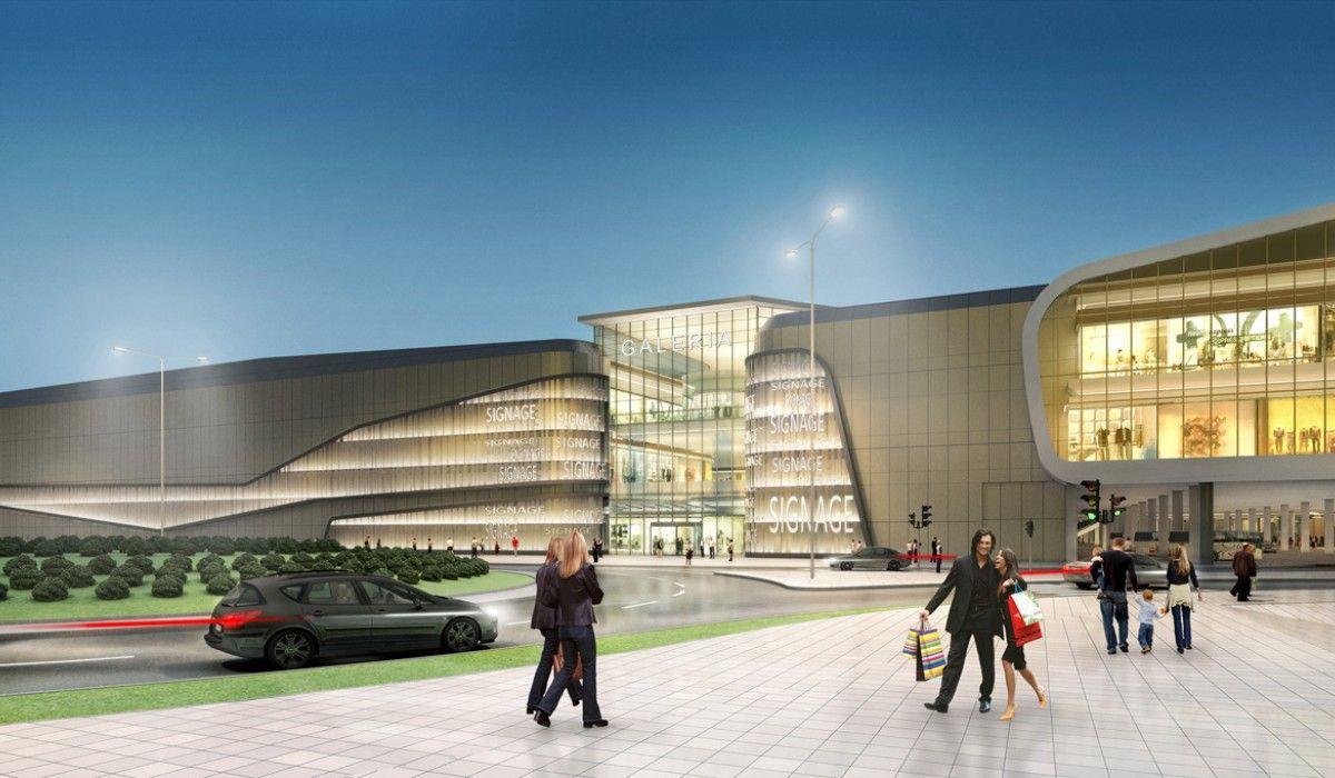 Integrated Transportation Center And Poznan City Center Concept Design Concept Architecture Facade Architecture Mall Facade
