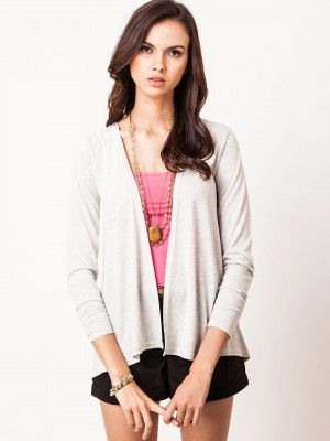 f79048cf4d ONLY Lace Panelled Cardigan from koovs.com