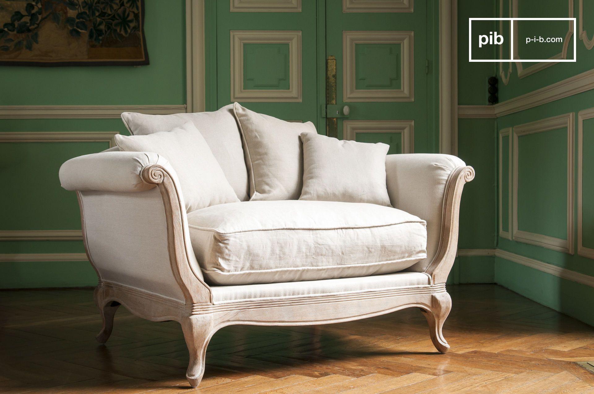 Ein Sofa Im Shabby Chic Stil Bringt Stil In Jeden