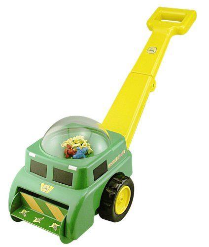 Toddler Push Toys John Deere Pop N Go Combine Good Price John