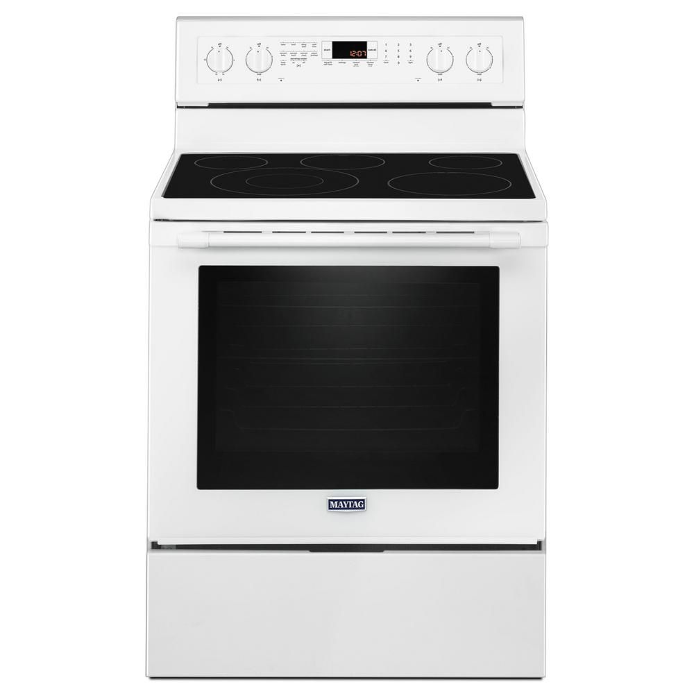 Maytag Microwave Not Heating Up Beeping: Maytag 6.4 Cu. Ft. Electric Range With True Convection In