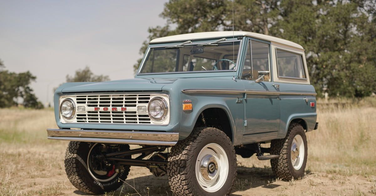 Icon Old School Br Is A Brand New 1960s Ford Bronco Ford