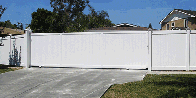 Custom Vinyl Driveway Gates Los Angeles Ca Buy Gates Simi Valley San Fernando Valley Gate Manufacturer Vinyl Gates Sliding Gate Pvc Fence