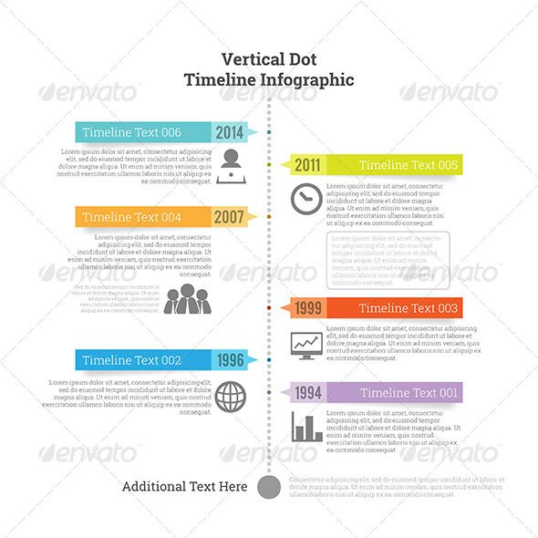 Infographic Ideas buy infographic template : Vertical Dot Timeline Infographic | Timeline and Timeline infographic