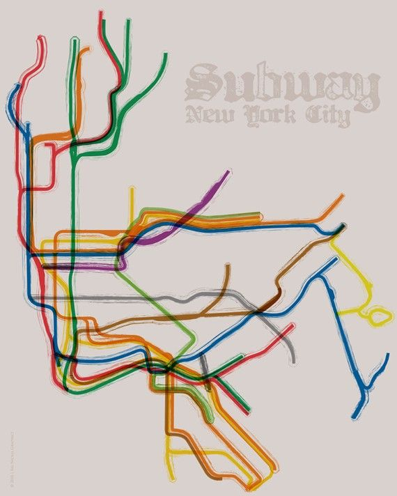 New York City Subway Map Wall Paper.Nyc Subway Map By Bignickel Graphics Love Paper And Designs