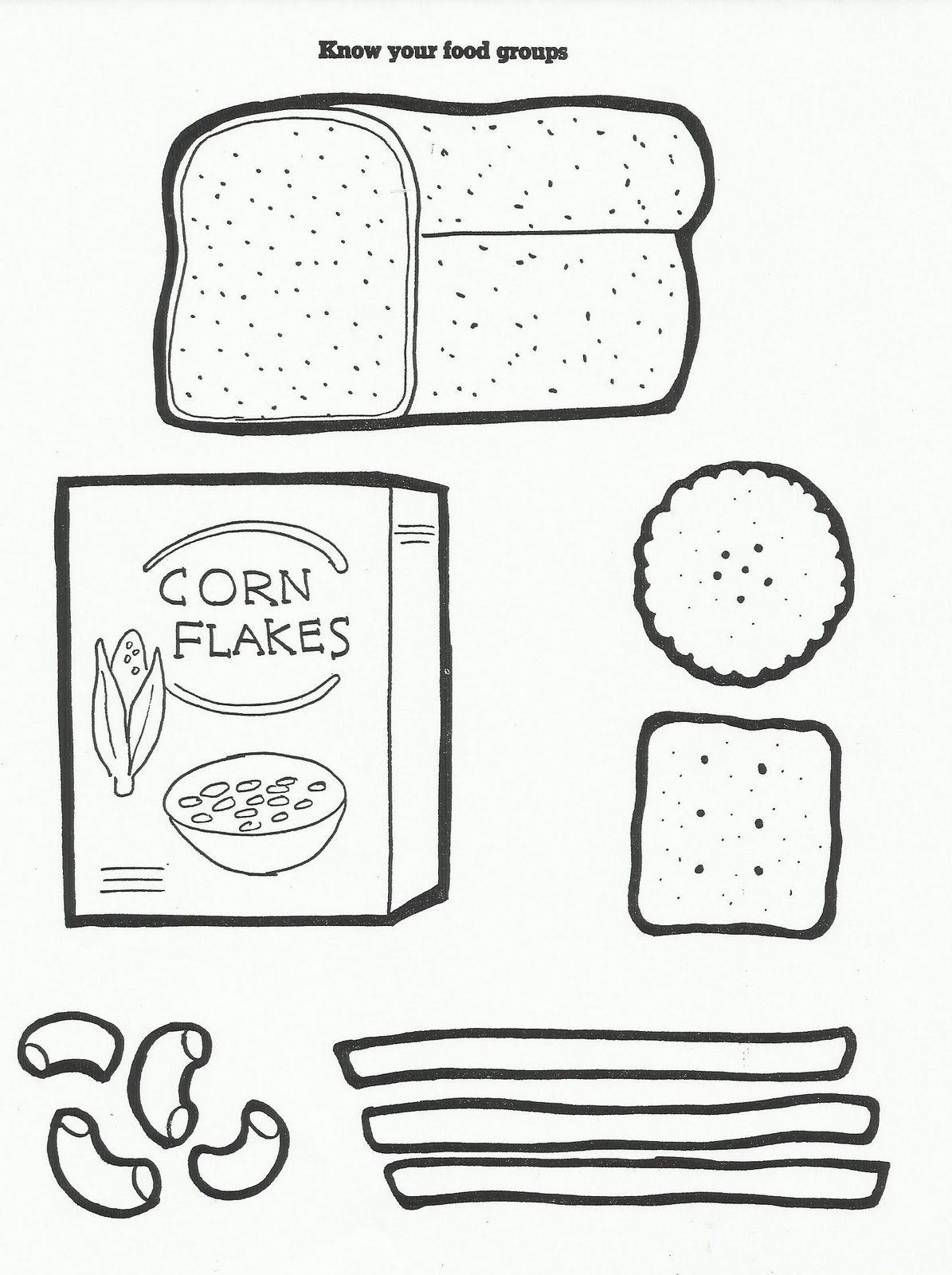 Squish Preschool Ideas FOOD teach nutrition & good