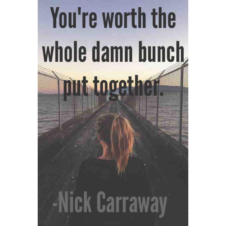 Essay/Term paper: Nick carraway