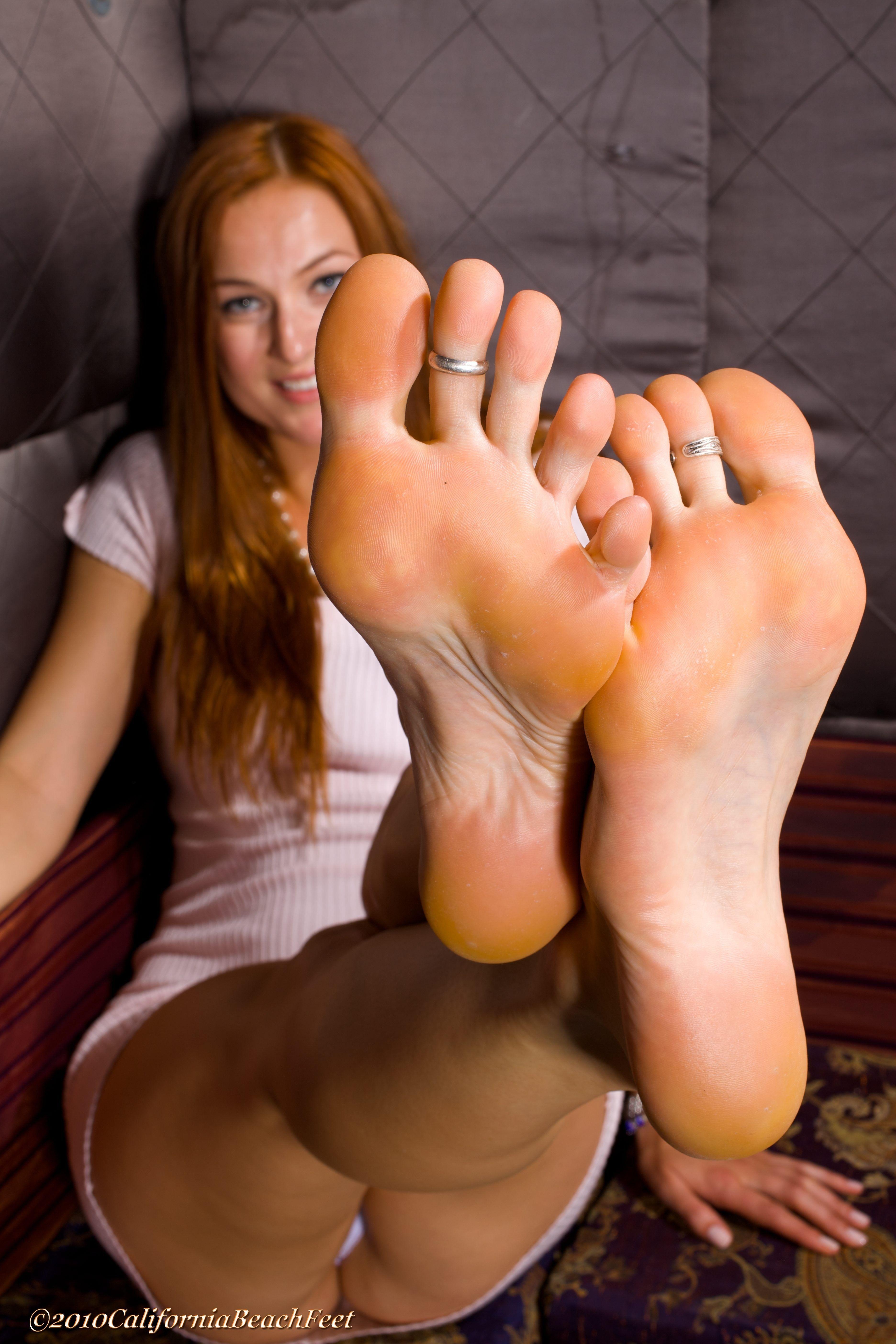 California Beach Feet