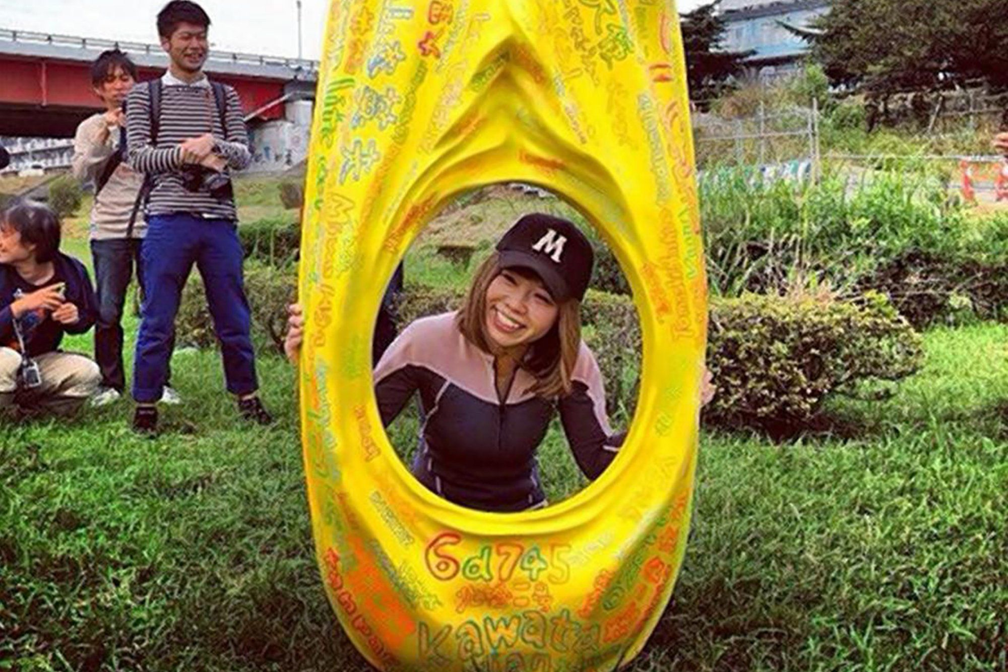 Japanese artist Megumi Igarashi's vagina kayak is considered obscene, but an annual penis festival is a family event. What's the deal?
