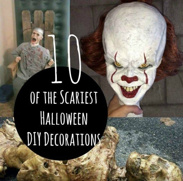 WARNING – 10 Scary DIY Halloween Party Props