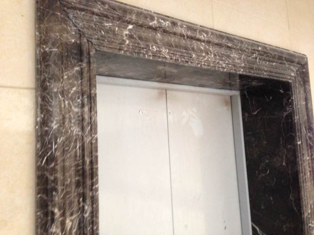 new emperador marble door frame surround | Molding Door Surround ...