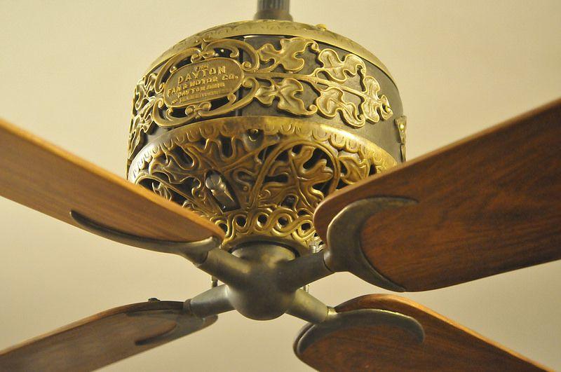 Dayton Ornate Dc Ceiling Fan Quạt Trần