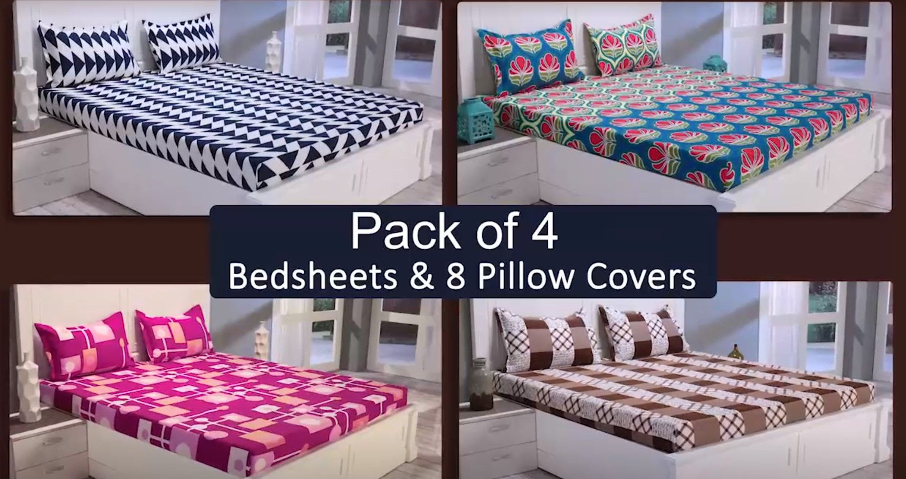 af6cadead4 Buy bed sheets online at best prices @EzMall. Choose from a wide range of