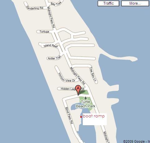 turtle bay florida map