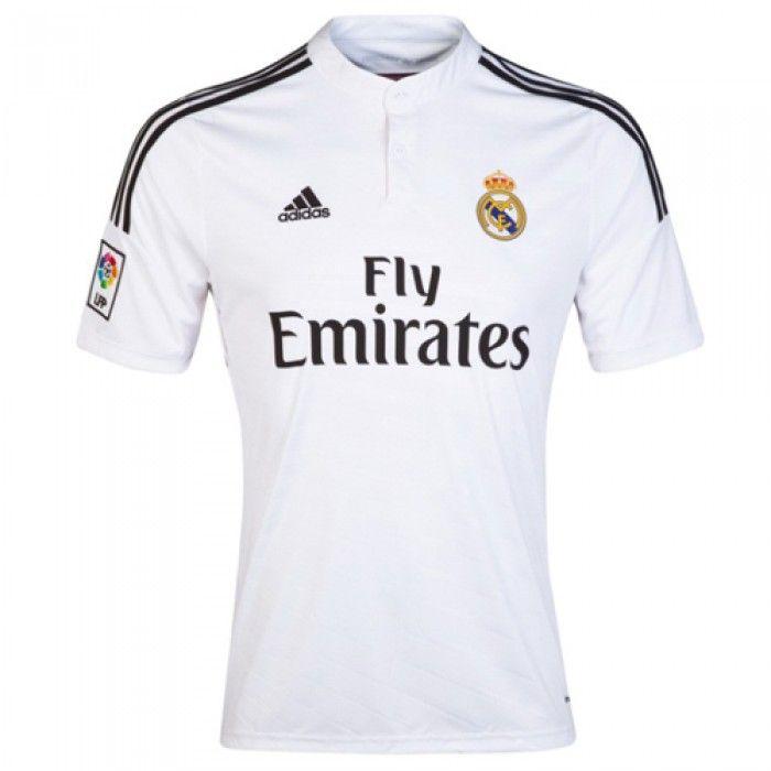 b0f0e34efc554 Playera Real Madrid - España Local 2014-2015 Confeccionada con tecnología  ClimaCool que elimina el