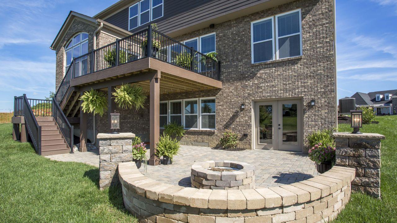 Maronda Homes The Eisenhower Outdoor Living Areas House Design