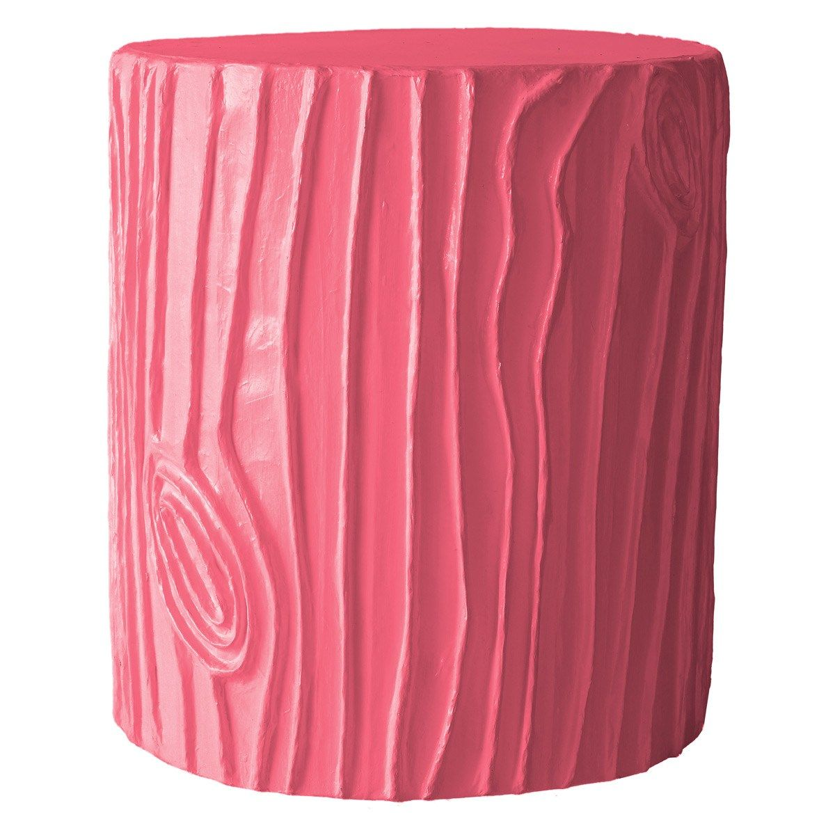 Stray Dog Designs Stump Pink Stool/Accent Table-cute! | Future ...