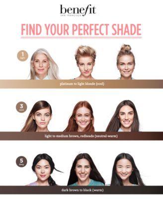 3d8ec056f48 Benefit Cosmetics Gimme Brow+ Brow-Volumizing Tinted Fiber Gel - . Medium -  Medium to dark brown (neutral