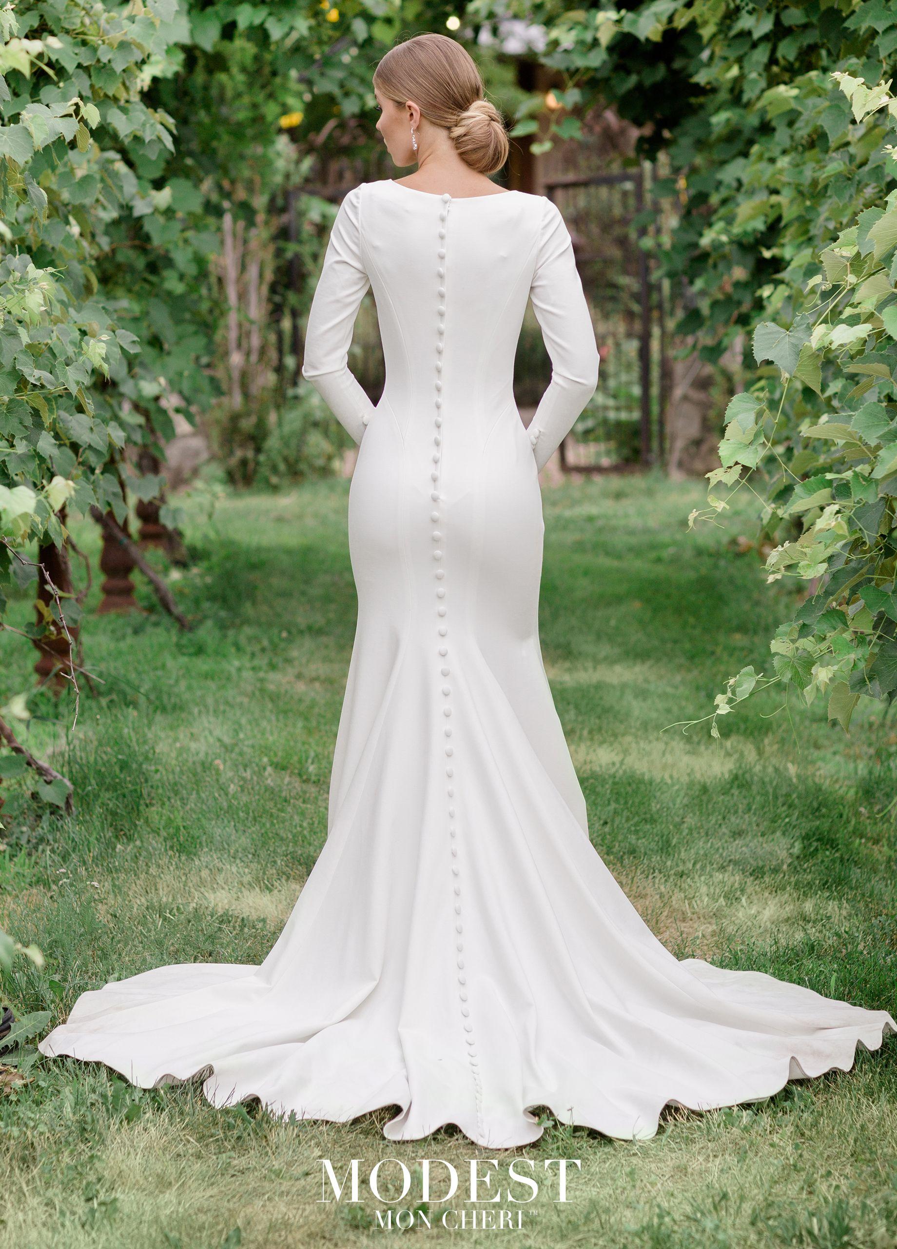 Modest By Mon Cheri Tr11988 Mon Cheri Bridals Modest Wedding Dresses Wedding Dresses Princess Wedding Dresses [ 2560 x 1840 Pixel ]