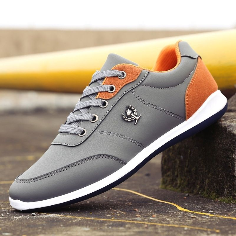 Men Casual Breathable Lace Up