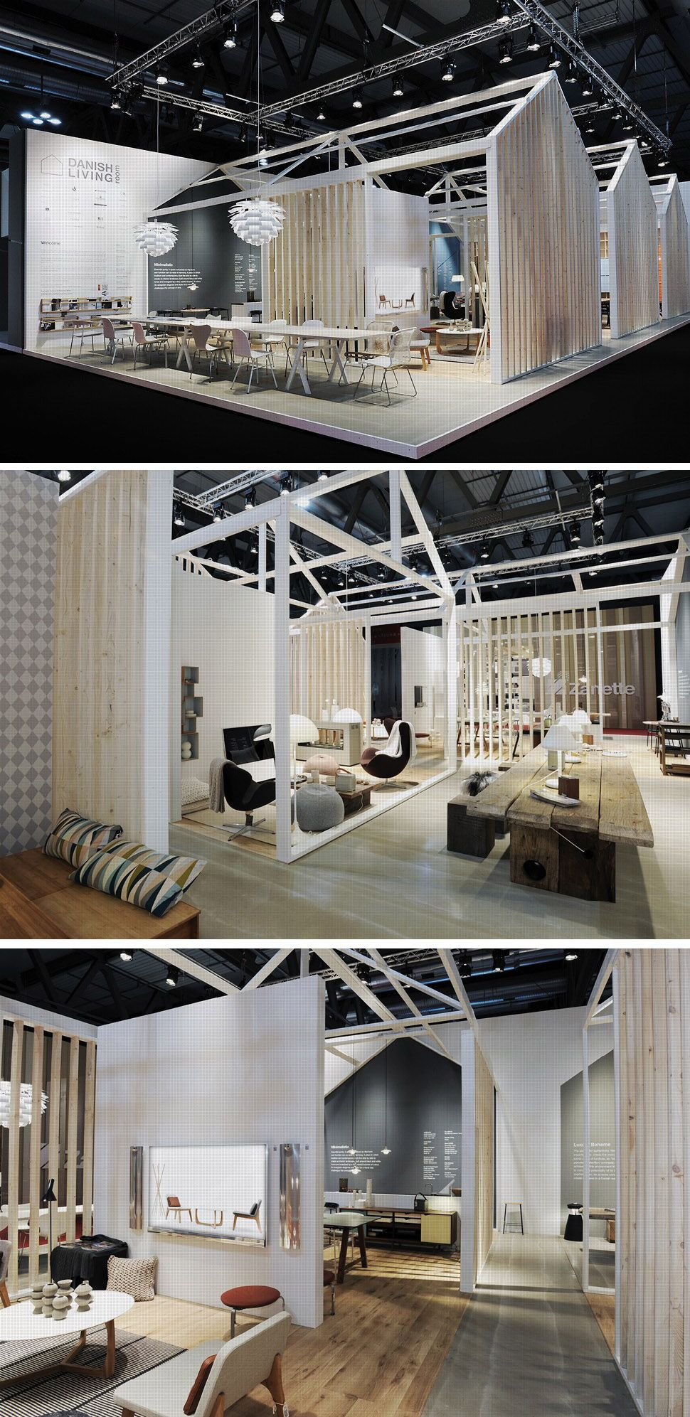 Danish living at salone del mobile 2011 stands for Arquitectura y diseno stands 8 pdf