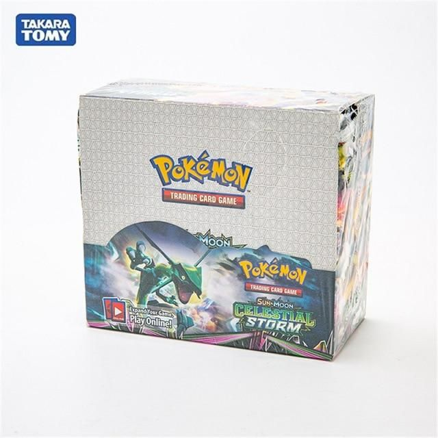 Photo of 324Pcs/Box Pokemon Cards Newest GX EX Sword&Shield Sun&Moon English Trading Card Shining Game Versions 36 Pack Collection Toys – Celestial Storm