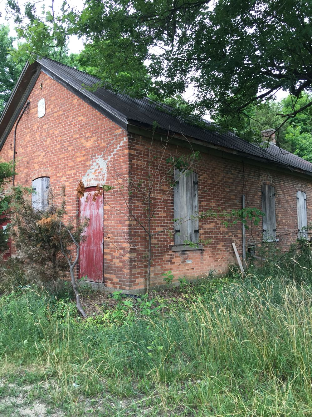 An old school house in need of a tenant