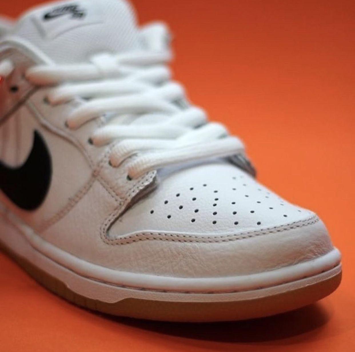 Nike SB Dunk Low Orange Label White Gum