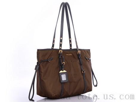 Fashion #Prada BR4252 Handbags in Coffee onnline sale