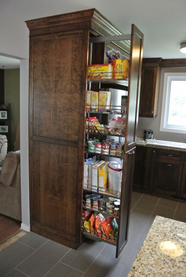 Astounding Standard Kitchen Pantry Cabinet Dimensions With Pull Out Kitchen  Pantry Drawers And Center Bottom Mount
