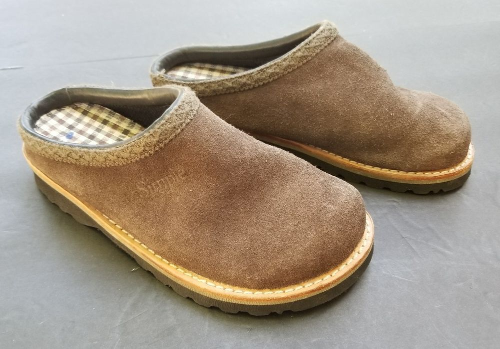67753bd7ec4e SIMPLE Brand Clogs Womens Shoes Suede Open Back Size 5  Simple  Clogs   Casual