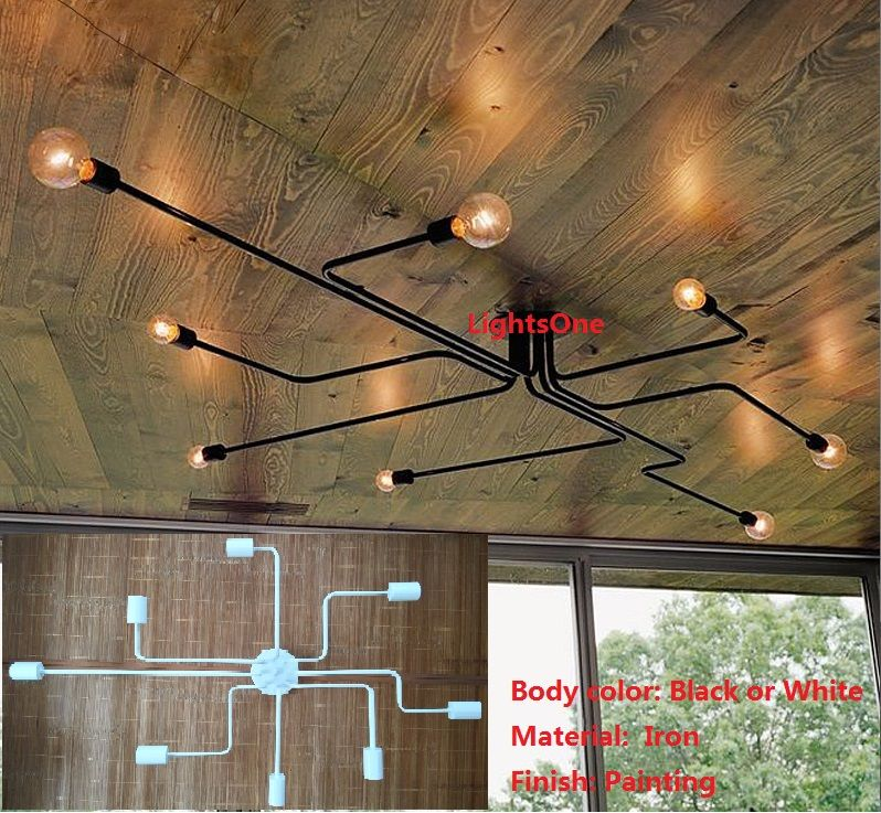 Cheap ceiling fluorescent light buy quality ceiling antenna directly from china ceiling light grid suppliers wrought iron 4 heads 6 heads 8 heads multiple